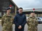 Greater Manchester Mayor, Mr Andy Burnham visits the Army Cadets