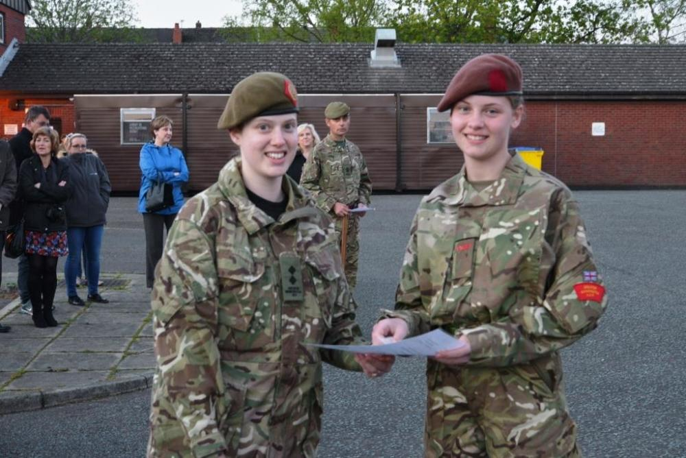 Wigan Army Cadets Awarded Regimental Cap Badges |… | Army Cadet Force