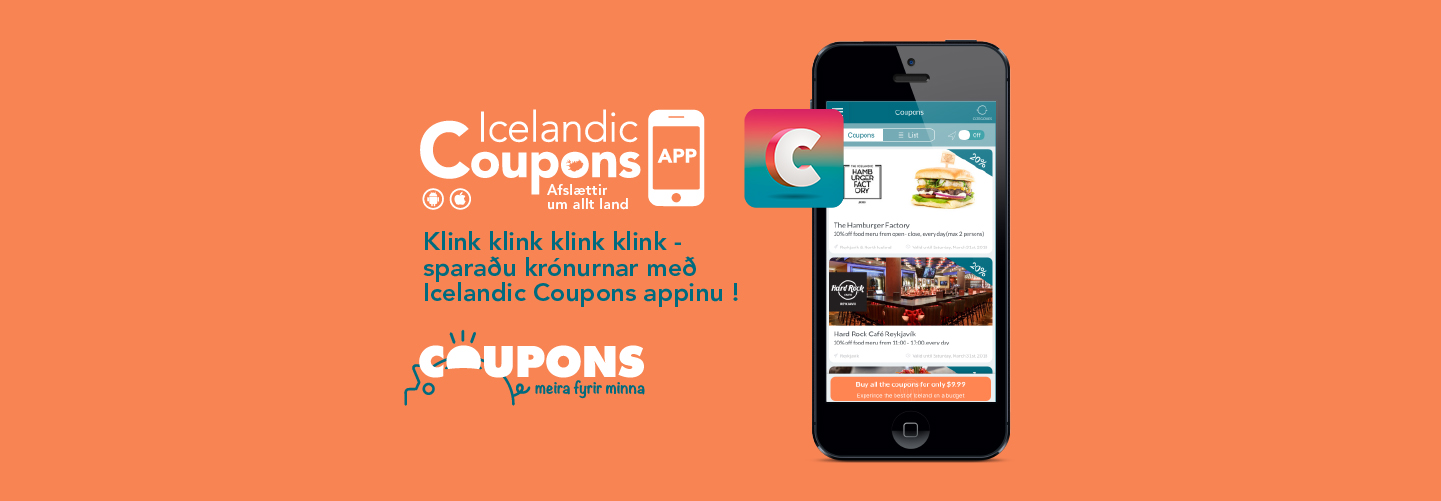 coupons app in iceland