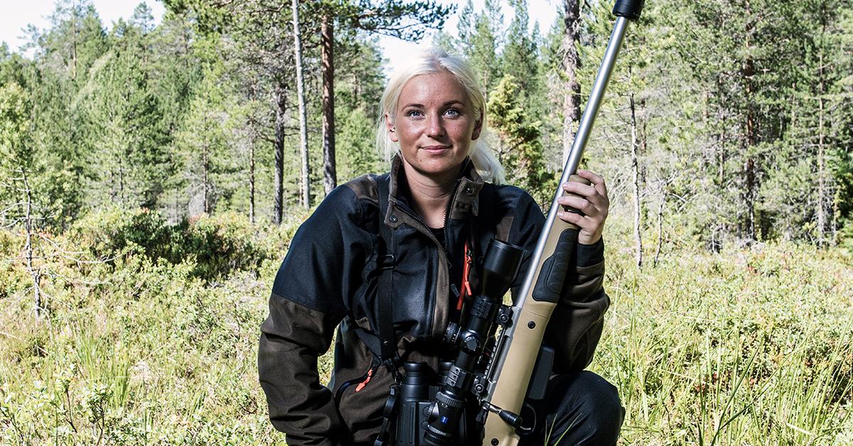 GRS Riflestocks ambassador - Janne Svihus