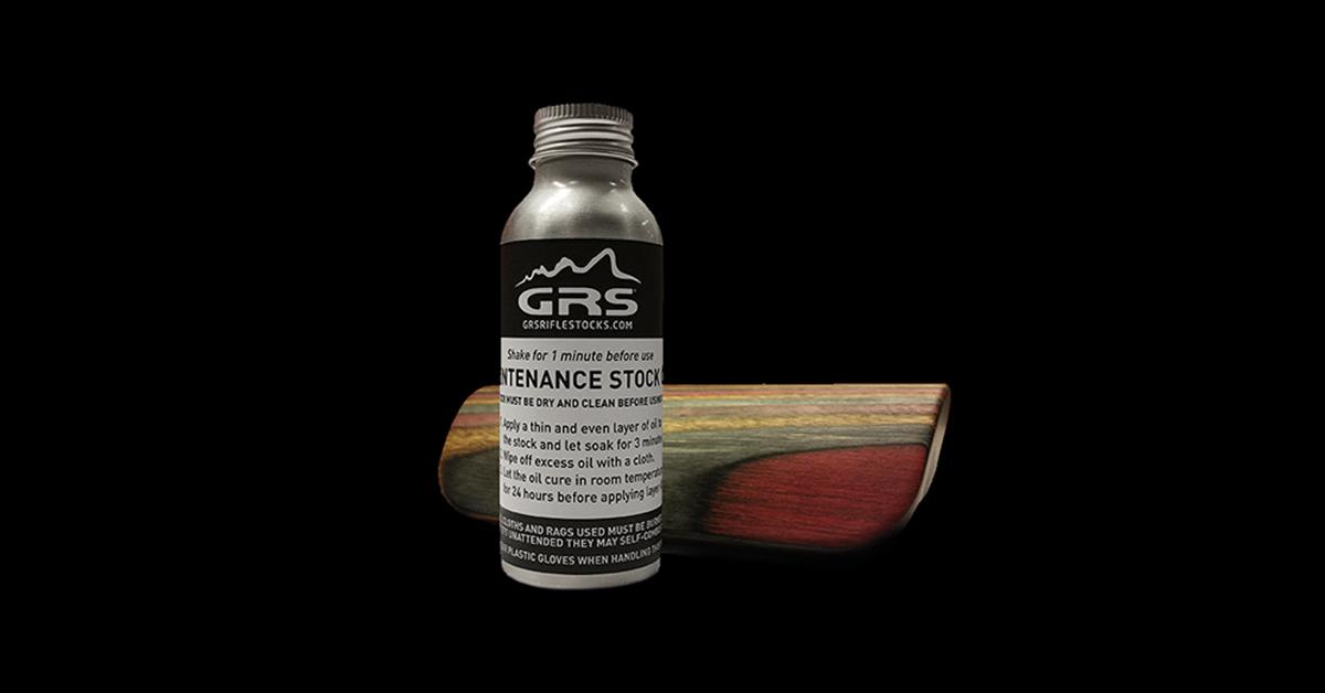 GRS Maintenance oil - GRS Riflestocks