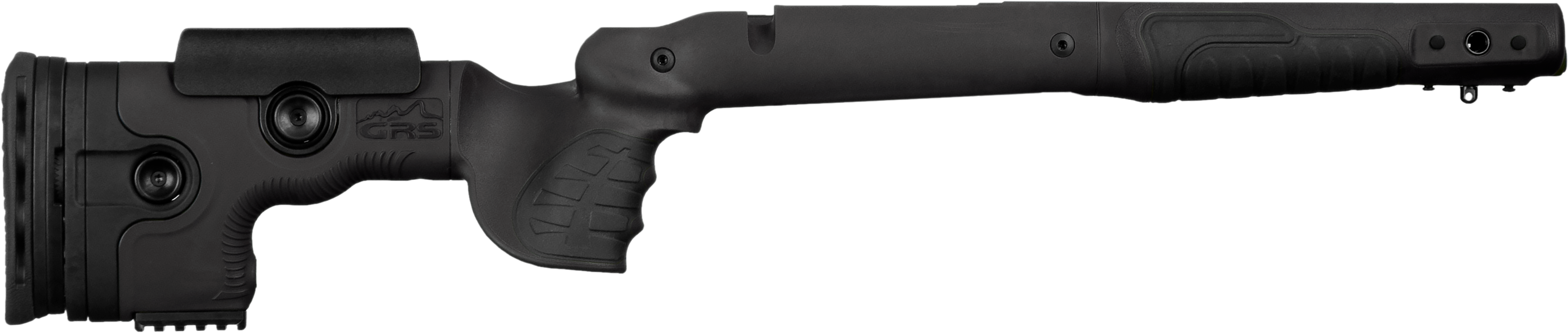 Smart design, many adjustment features, integrated Picatinny Rail mounting systems. GRS Bifrost is the ultimate adjustable rifle stock.