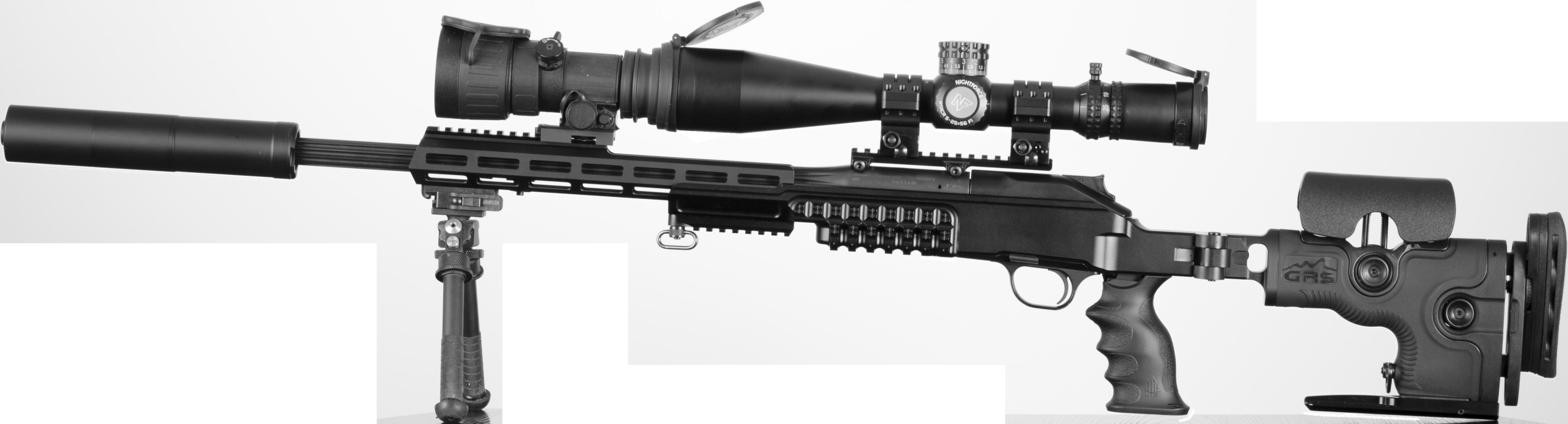 GRS Ragnarok Leftview Rifle Blaser R8