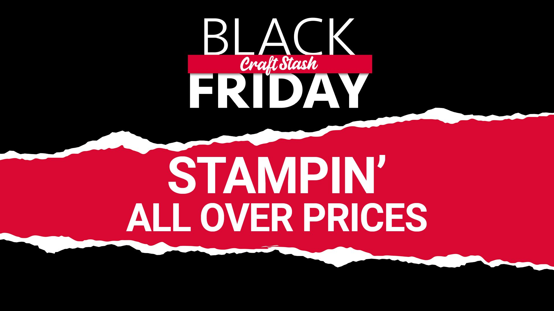 CraftStash Black Friday Stampin' All Over Prices