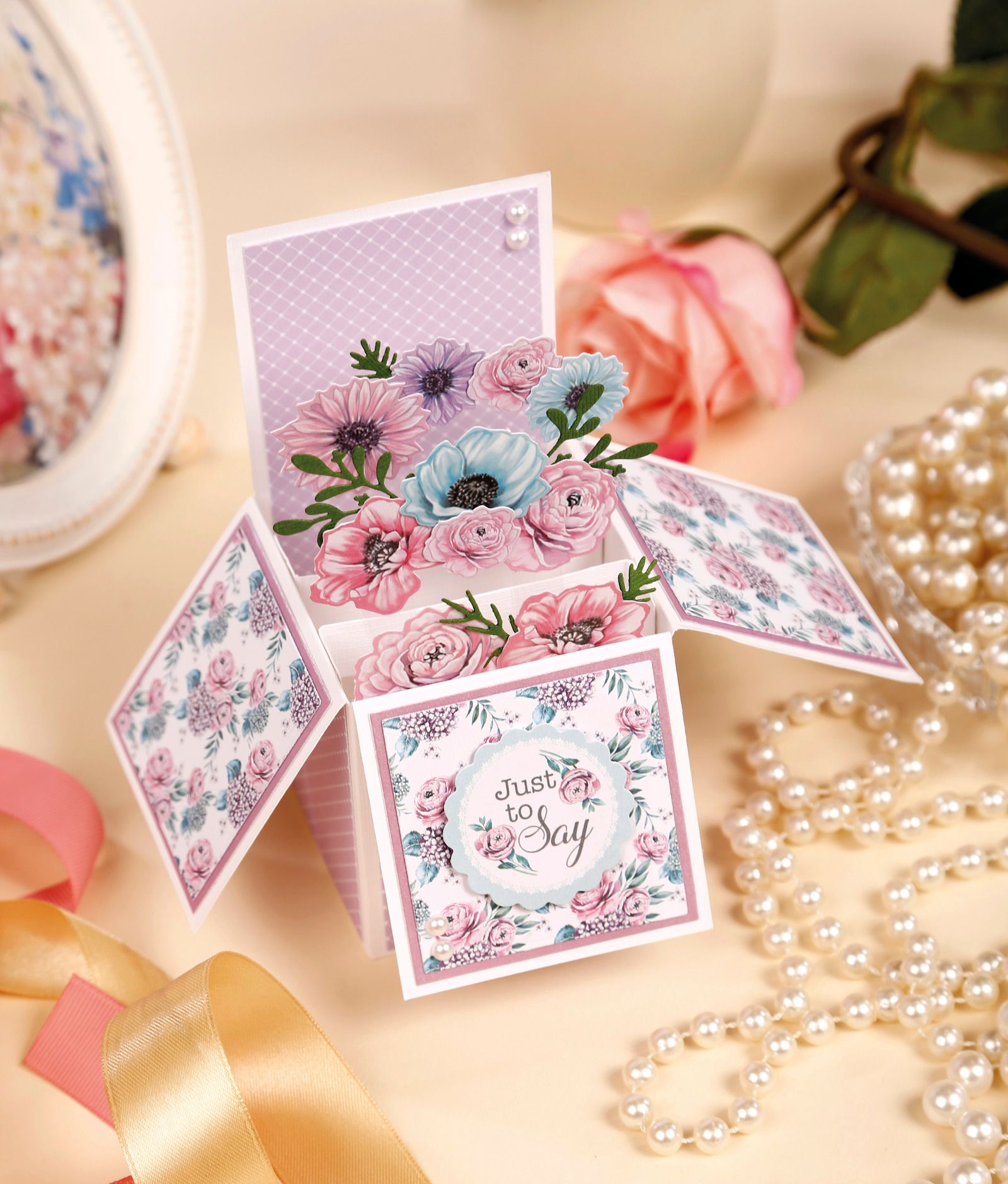 Pop-Up Box Card Template and Tutorials Pertaining To Wedding Pop Up Card Template Free