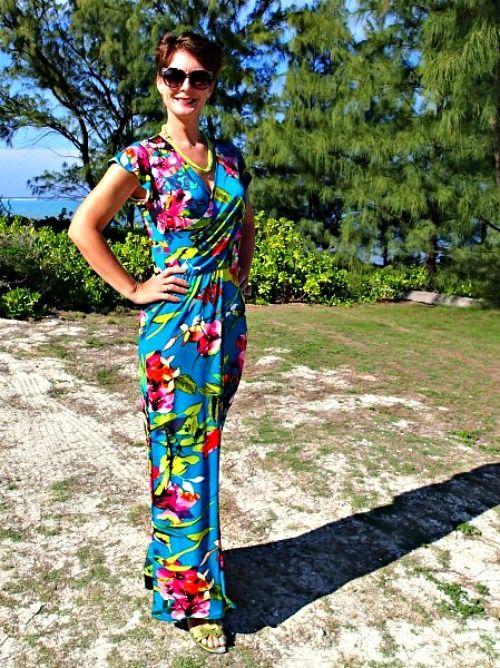 Tropical-Wrap-Dress