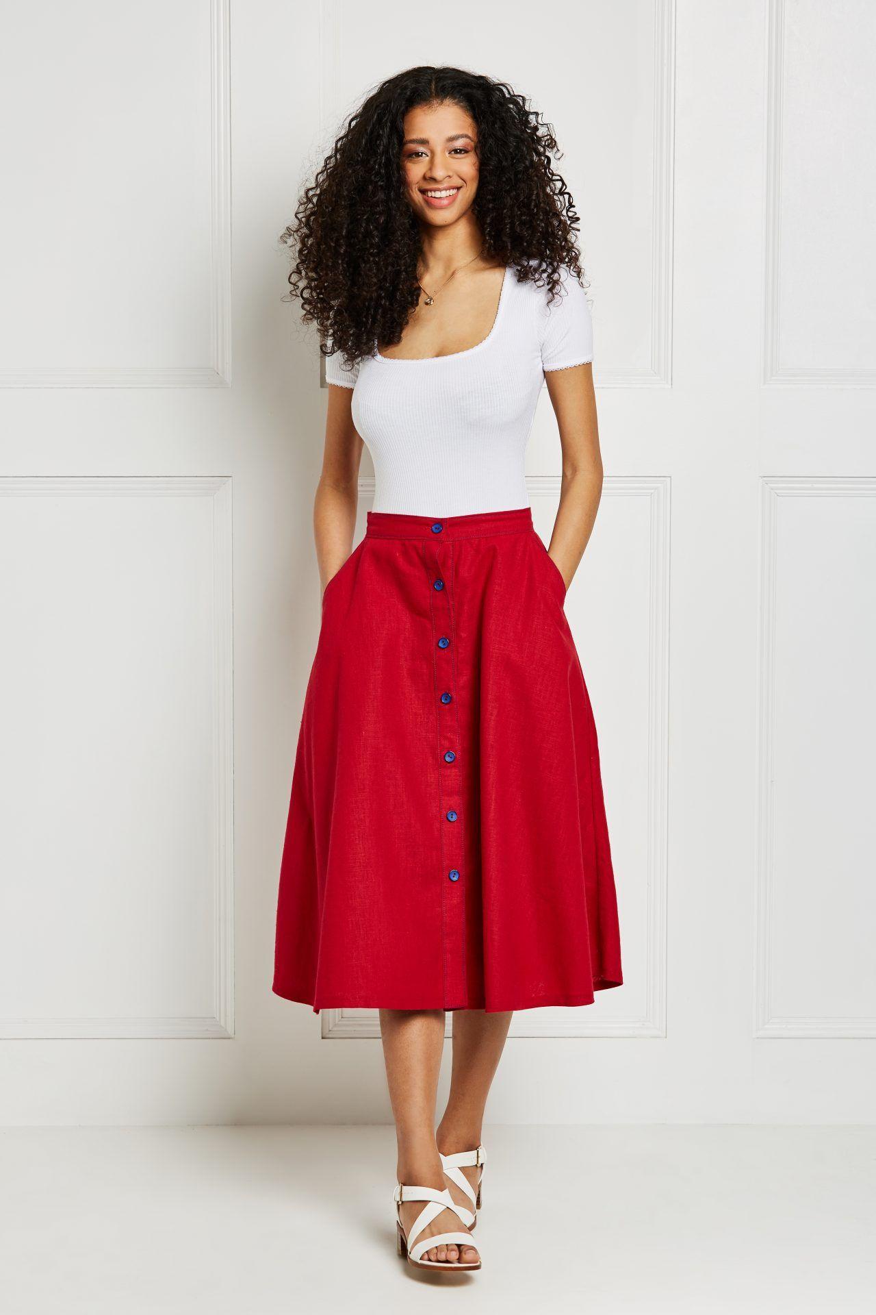 Button-skirt