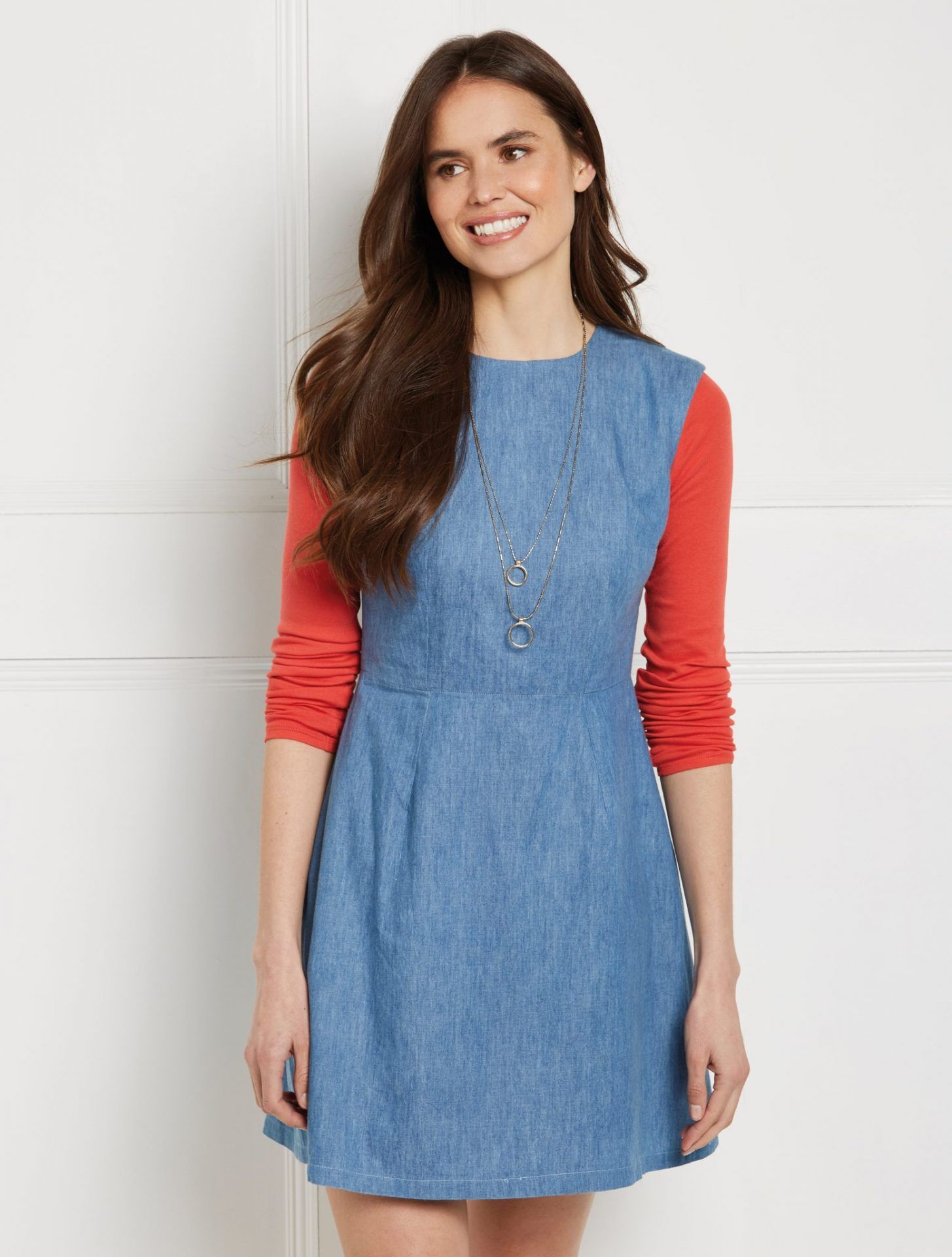 Demin-A-line-dress-1