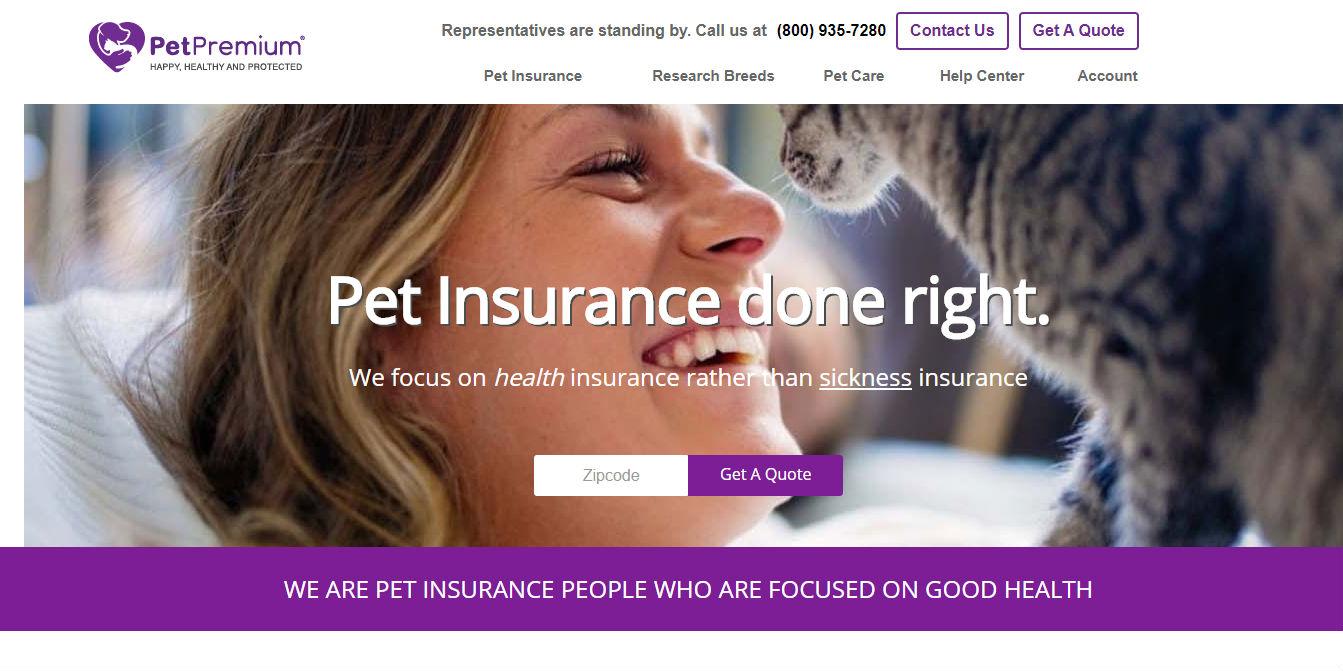 PetPremium Pet Insurance lobby