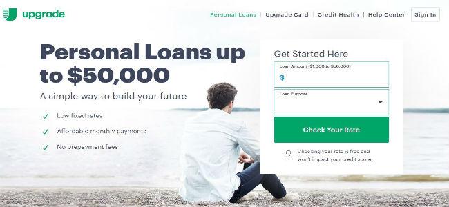 Upgrade Homepage