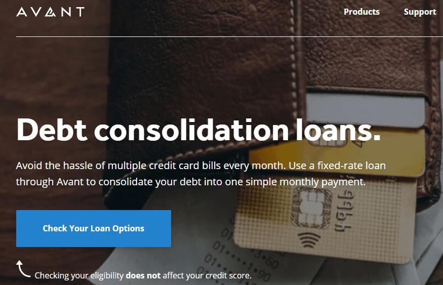 Avant Debt Consolidation
