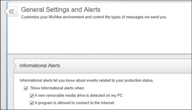 Disable Alerts
