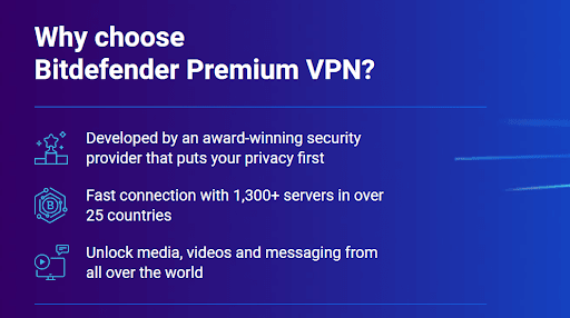 Bitdefender's VPN