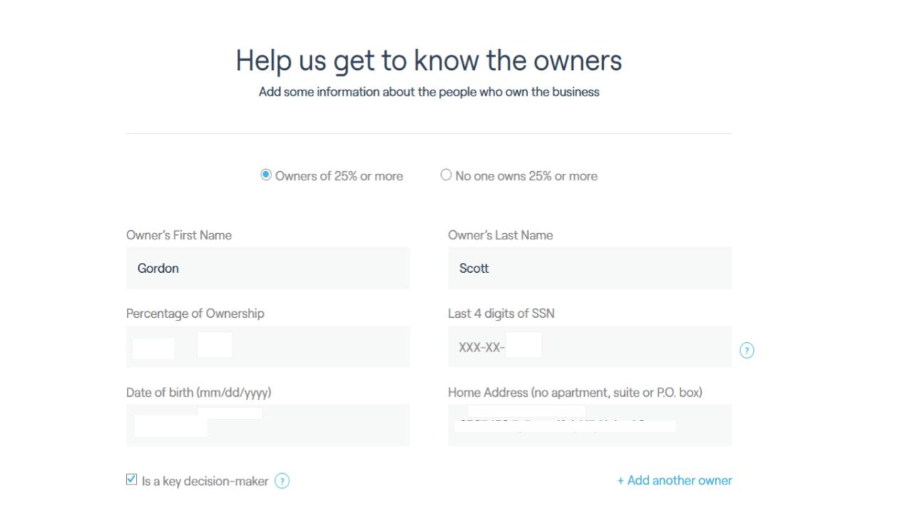Fundbox application process