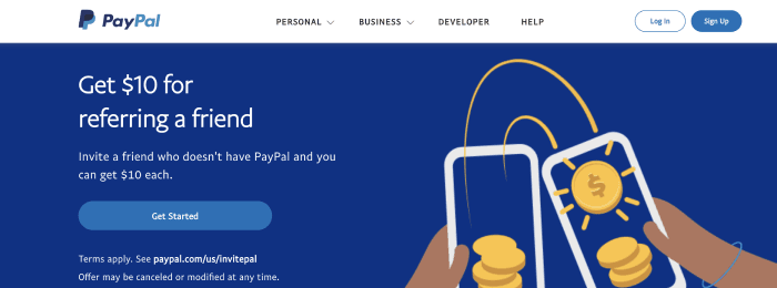 PayPal Business Loan