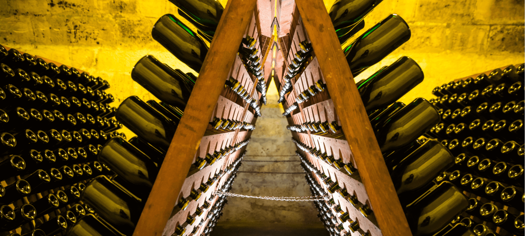 Champagne aging