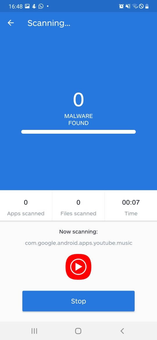 scan your device