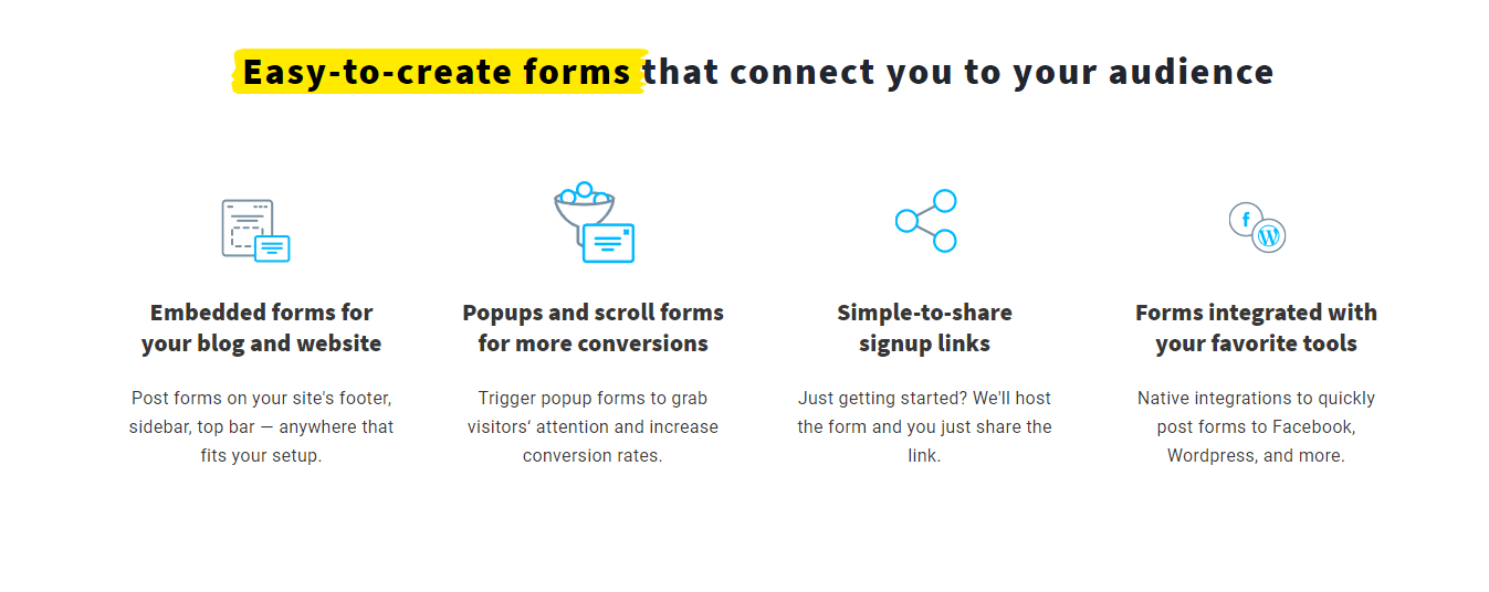 GetResponse Forms