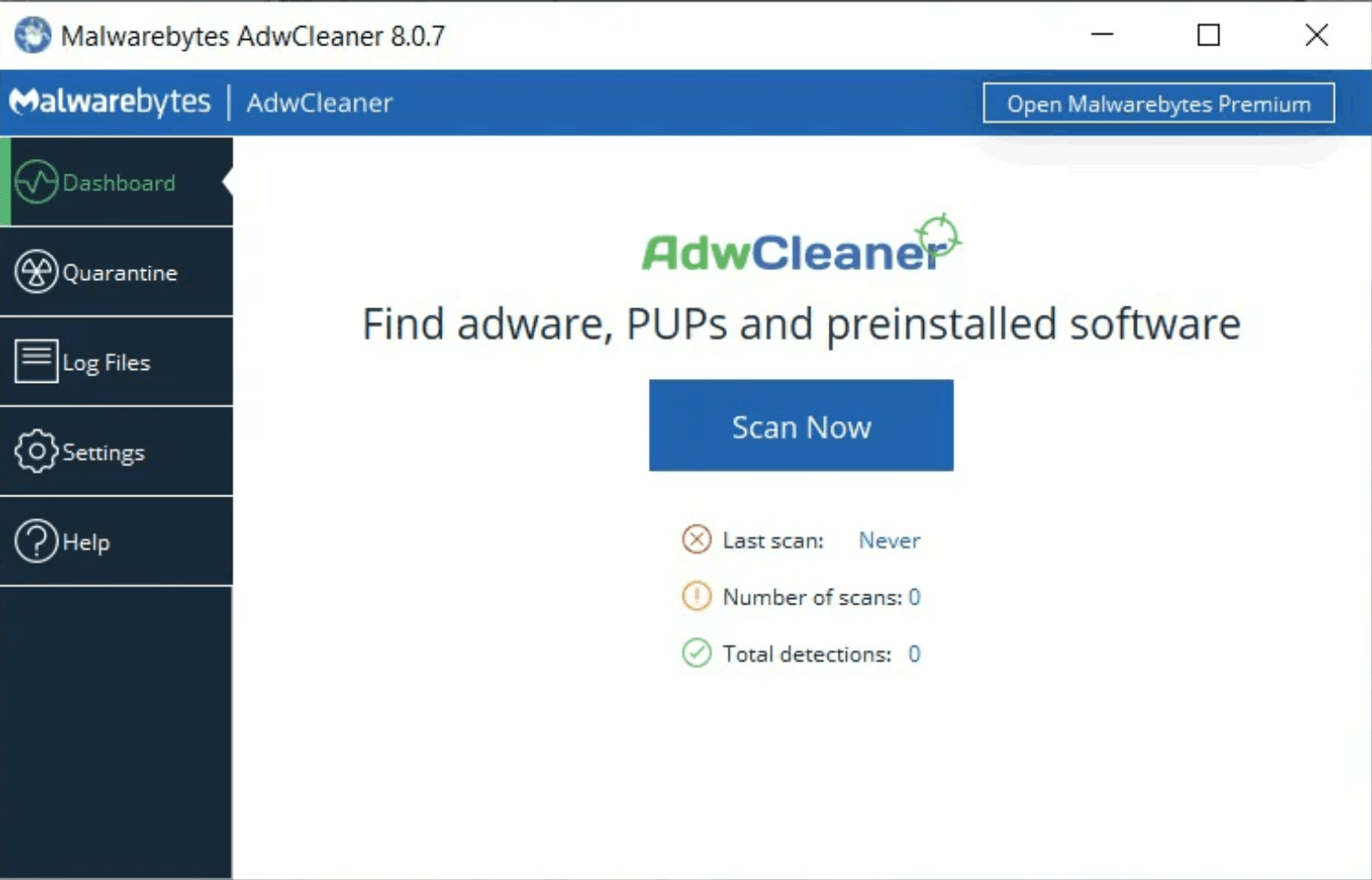 how the Malwarebytes scanner work