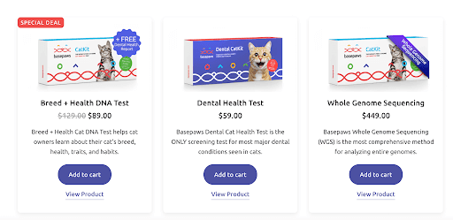 Basepaws best deals on the site