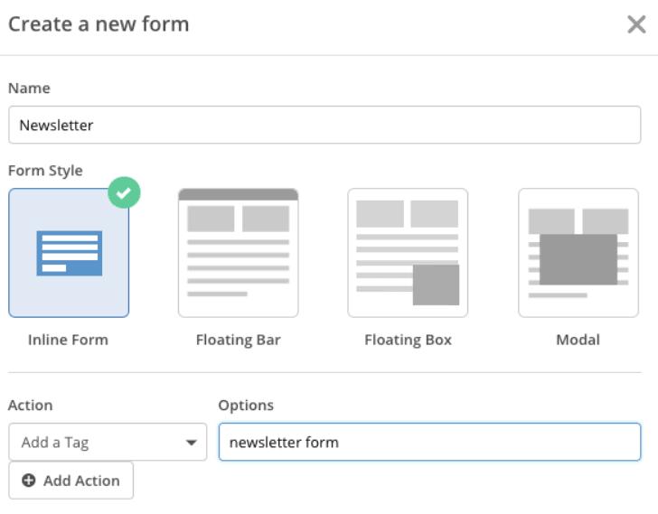 ActiveCampaign Forms