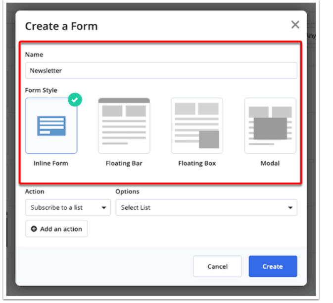 ActiveCampaign Forms & Landing Pages