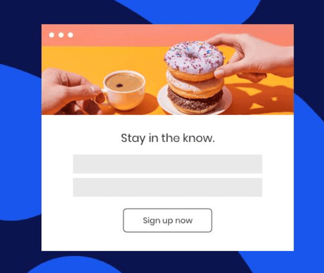 Constant Contact Sign-up Forms