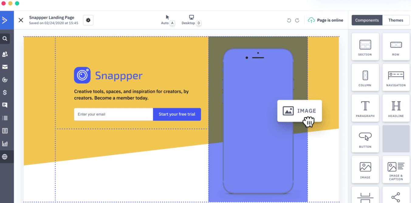 ActiveCampaign Landing Pages