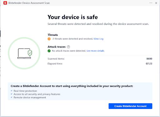 Bitdefender Safe Device