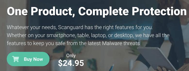 Scanguard Pricing