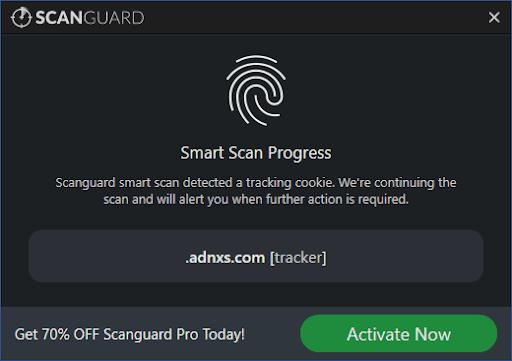 Smart Scan Progress