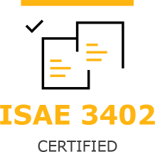 ISAE 3402 certified