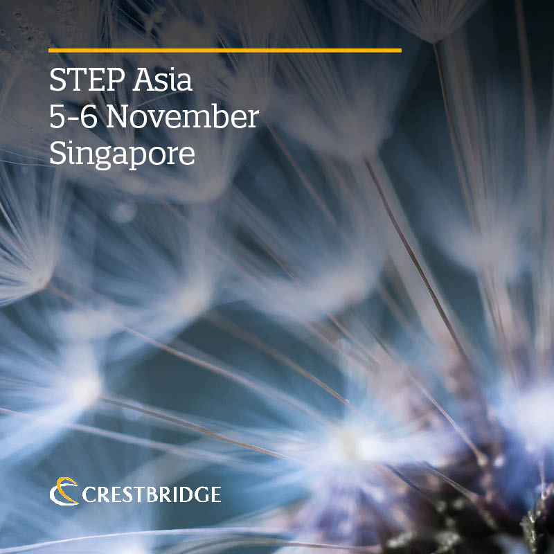 Crestbridge team heads to STEP Asia