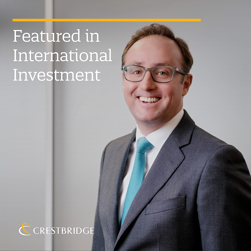 Featured in International Investment