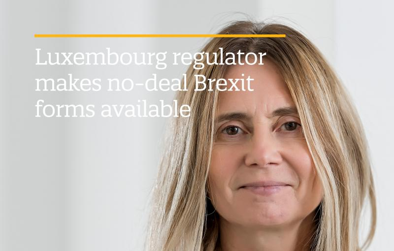 Luxembourg regulator makes no-deal Brexit forms available