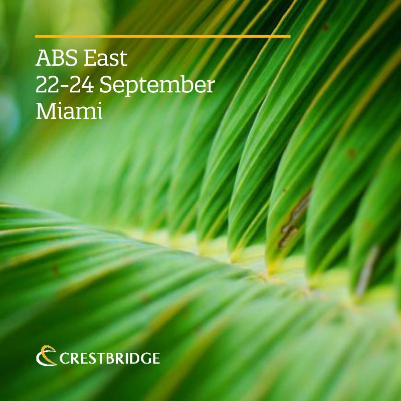 Crestbridge exhibiting at ABS East