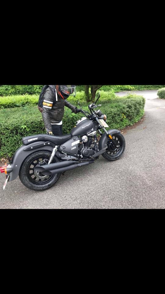 Motorbike REG OY18KYG Stolen