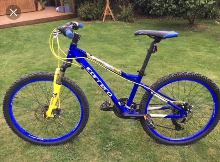 Carrera Bike Stolen From Asda