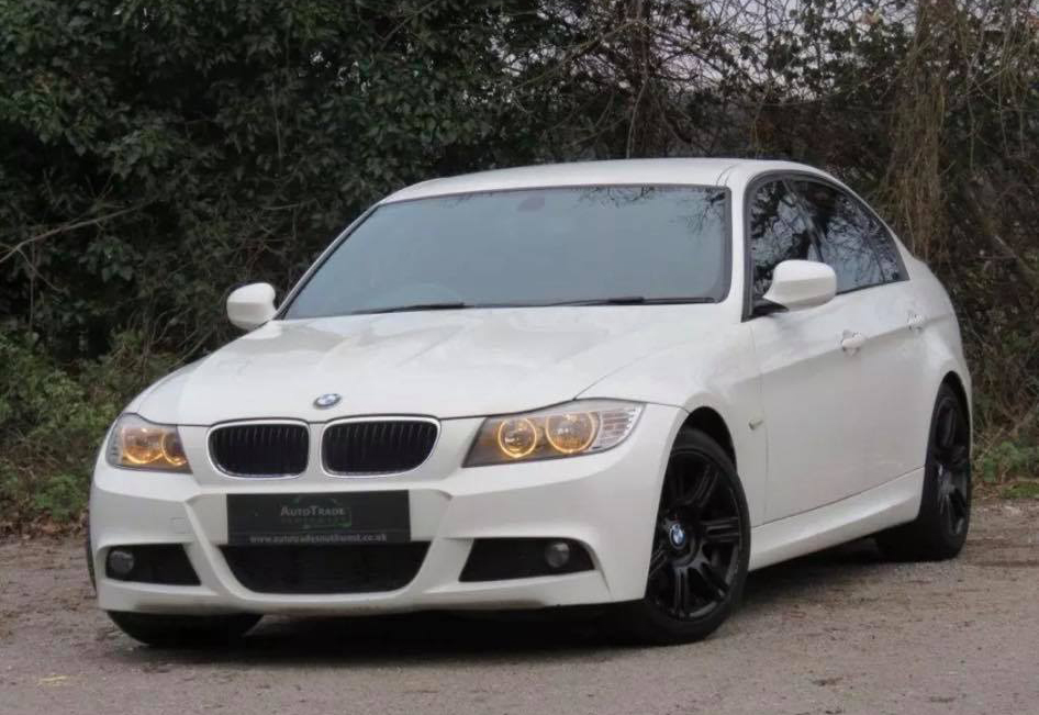 White BMW Stolen from Coleview