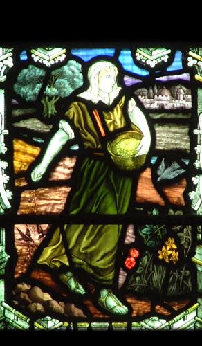 South Hill, St Sampson, North transept north left-hand predella.