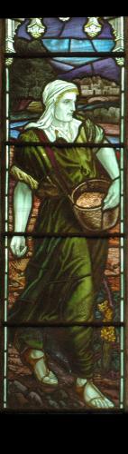 St Stephen by Saltash North aisle 2, left-hand light.