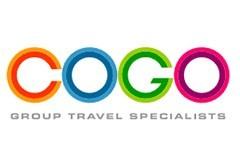 COGO travel group logo on a white background