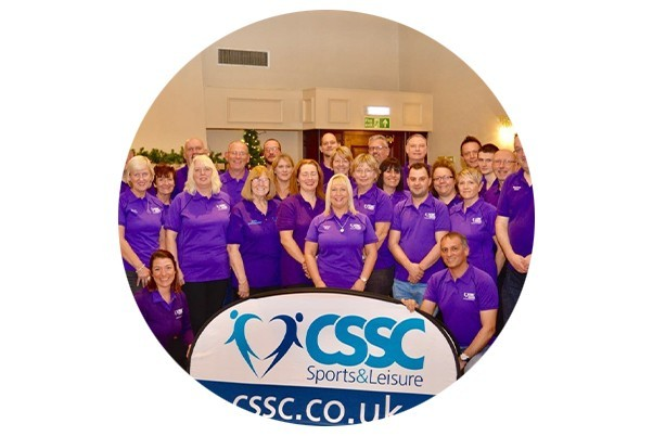 CSSC Volunteer team pose for a group photograph