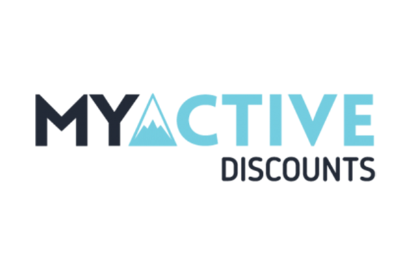 My Active discounts logo on a white background