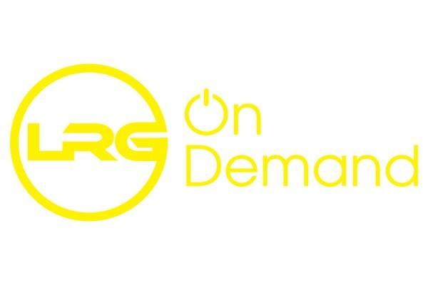 Yellow LRG fitness logo