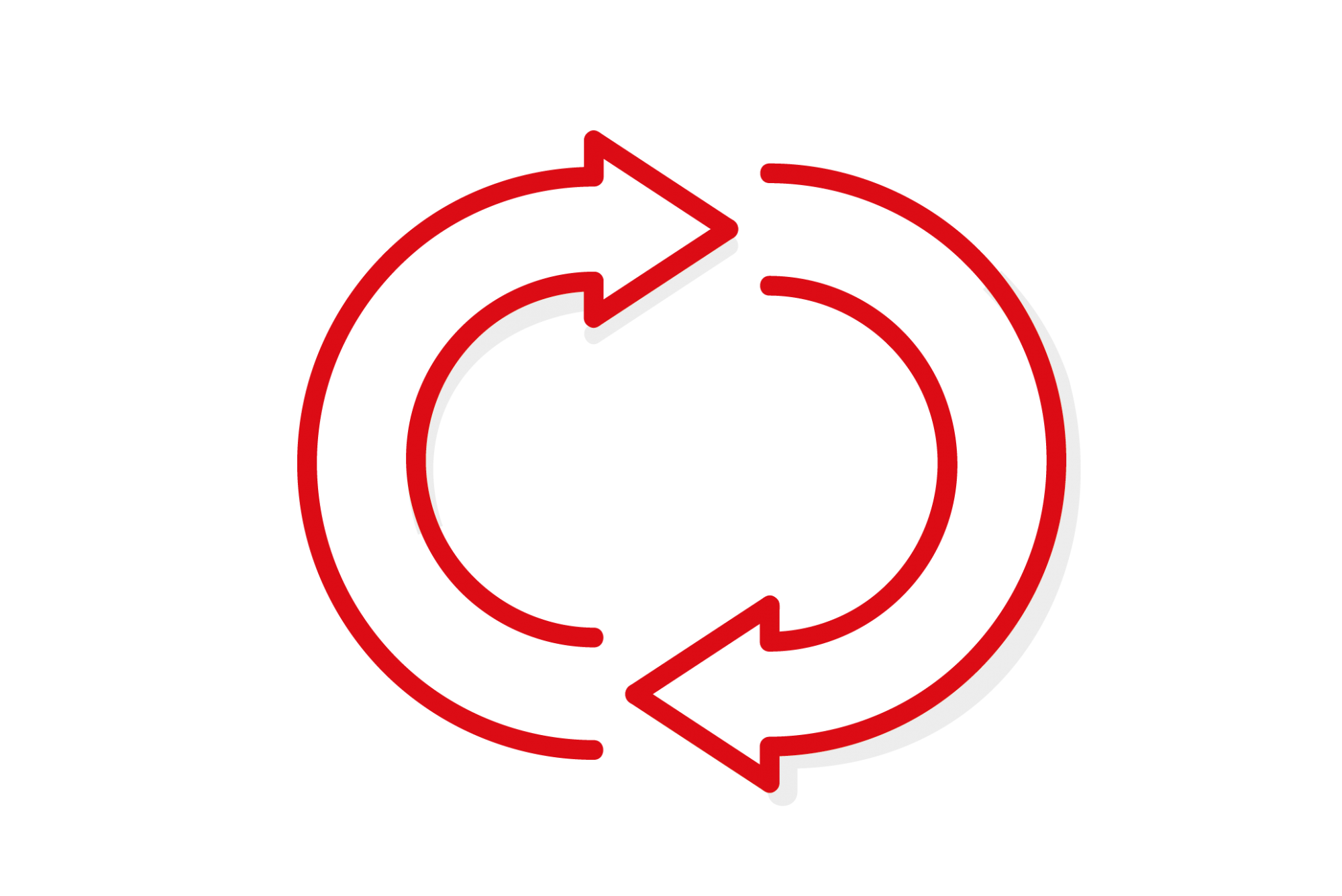 Red loop illustration
