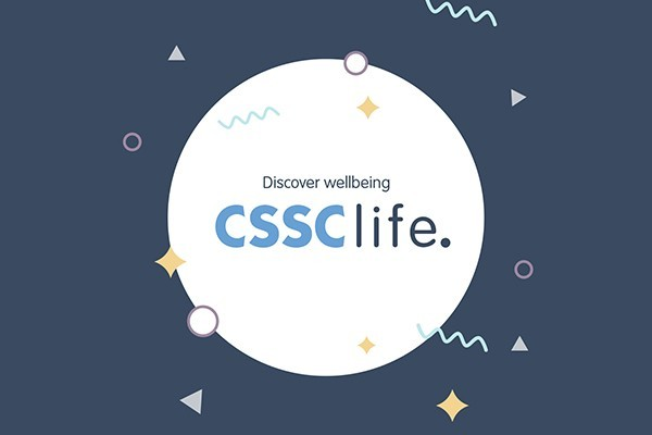 CSSC life logo in a circle