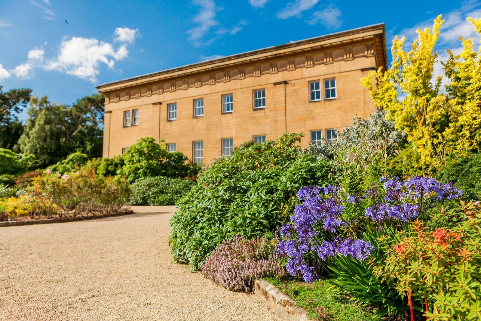 A picture of Belsay Hall