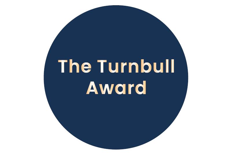 The Turnbull Award graphic