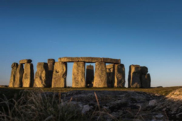 Stonehenge in summer sunset